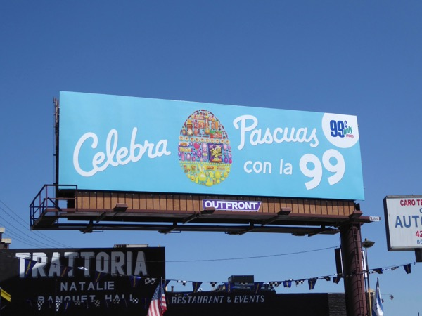 99c Only Stores Easter egg billboard