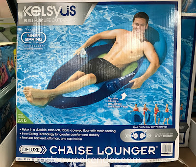 Costco 1189832 - Kelsyus Chaise Lounger Pool Float: great for some summer fun