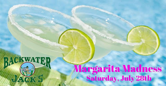 The Margarita Madness Pool Party is Coming to Backwater Jack's!