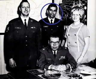 Project Blue Book Team - Lt. Carmon Marano, Circled