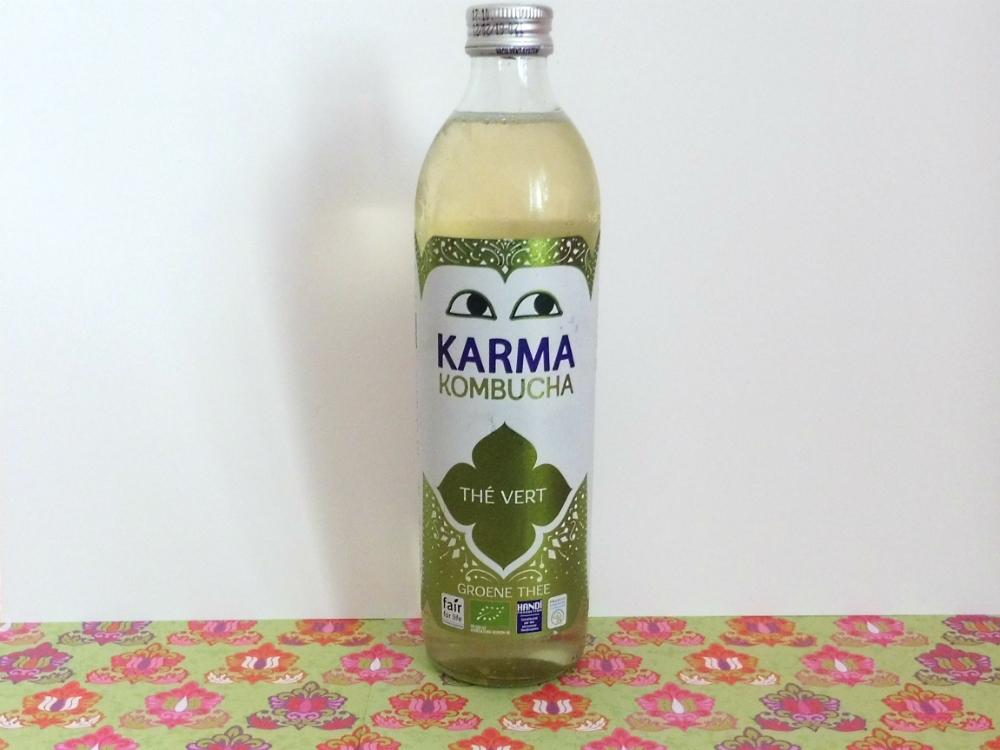 Test de la boisson à base de thé fermenté Karma Kombucha - Par Lili LaRochelle à Bordeaux