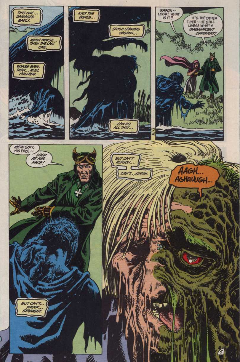 Swamp Thing (1982) Issue #83 #91 - English 5