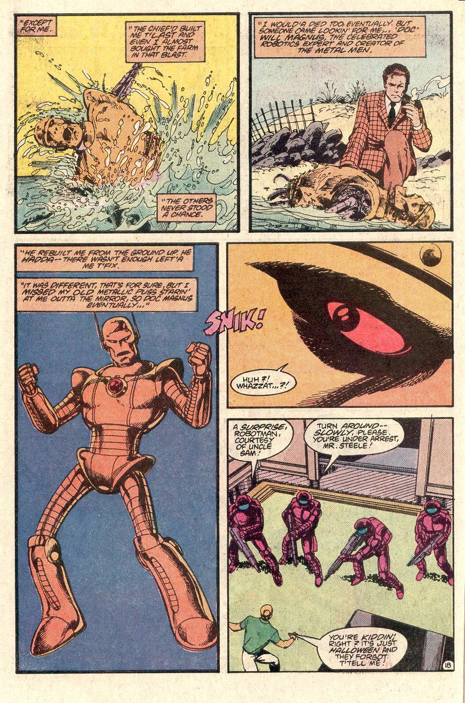 Read online Secret Origins (1986) comic -  Issue # _Annual 1 - 19