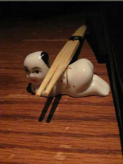 Little Man Chopstick Holder.