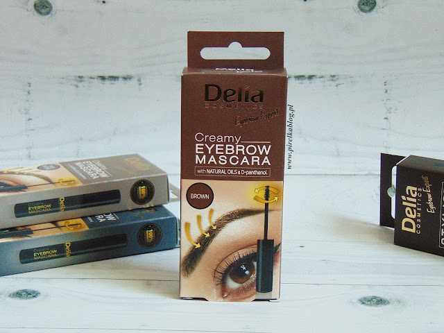 Delia, Kremowa mascara do brwi