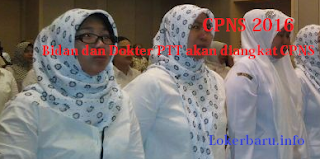 CPNS 2016 Bidan PTT akan diangkat CPNS