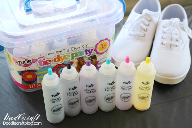 summer fun with tie dye party boxes