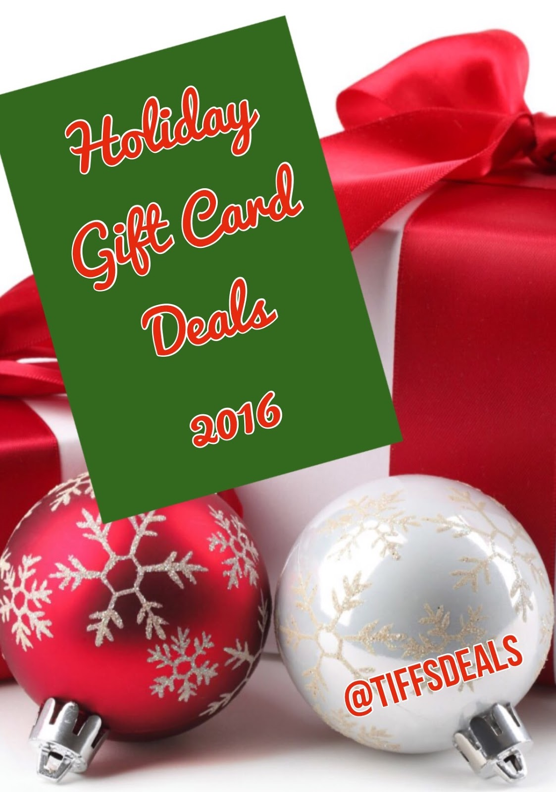 Tiff\'s Deals - NOLA and National Savings: Holiday Gift Card Deals ...