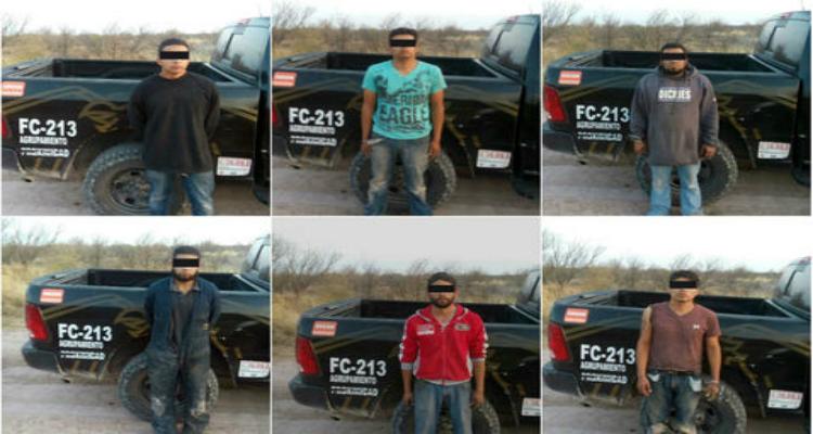 Caen seis huachicoleros en Coahuila