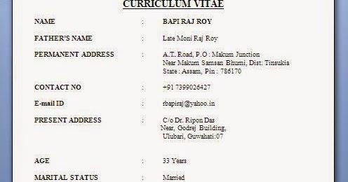 outstanding marital status resume format model example resume