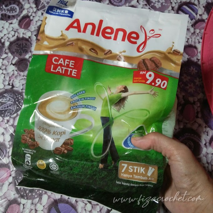 Claim Sample Susu Anlene Cafe Latte Tak Sampai Lagi?