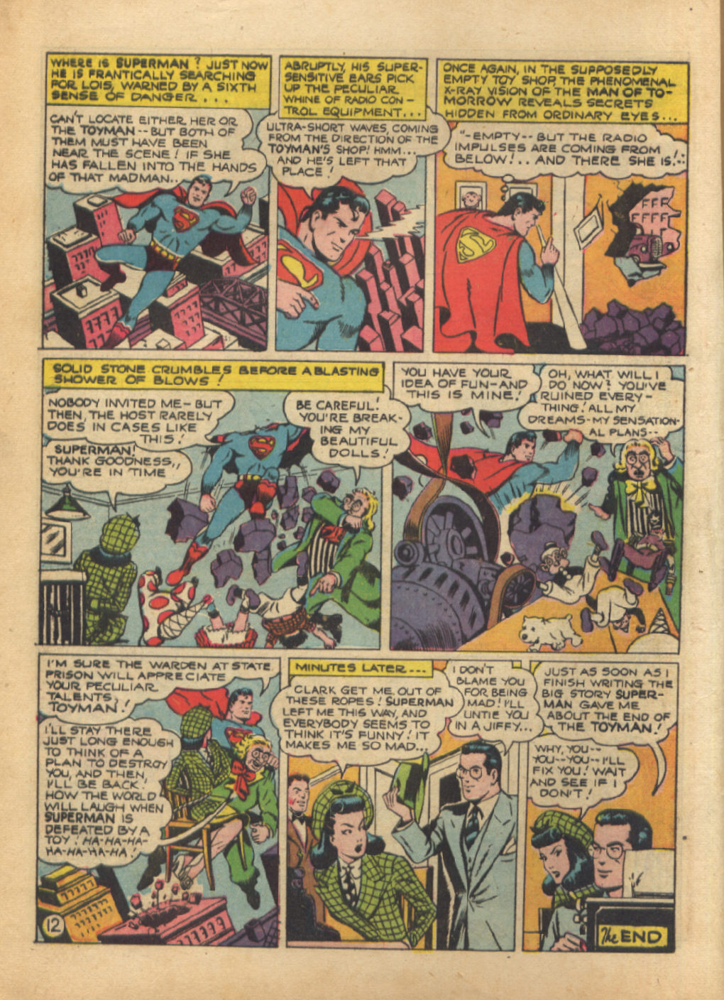 Read online Action Comics (1938) comic -  Issue #64 - 14