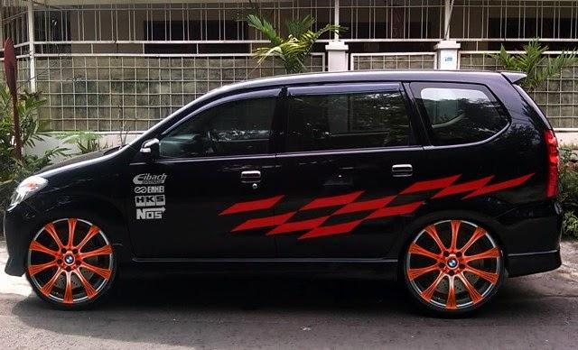 Modifikasi mobil Toyota Avanza Velg
