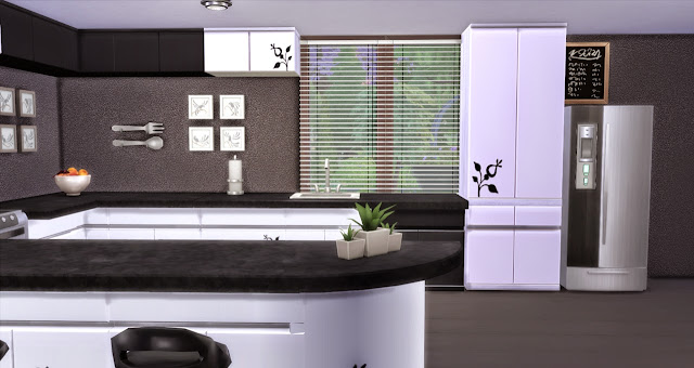 "Sims 4 Kitchen ""Eva"""