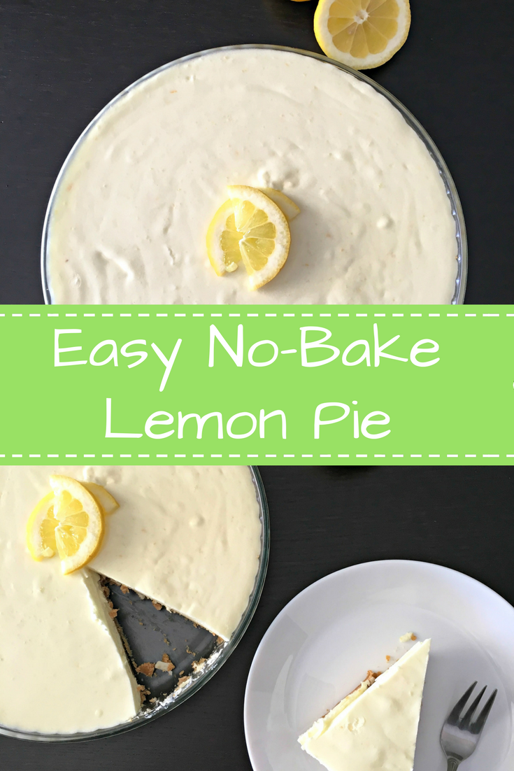 Easy, No-Bake Lemon Pie Recipe - Ioanna's Notebook