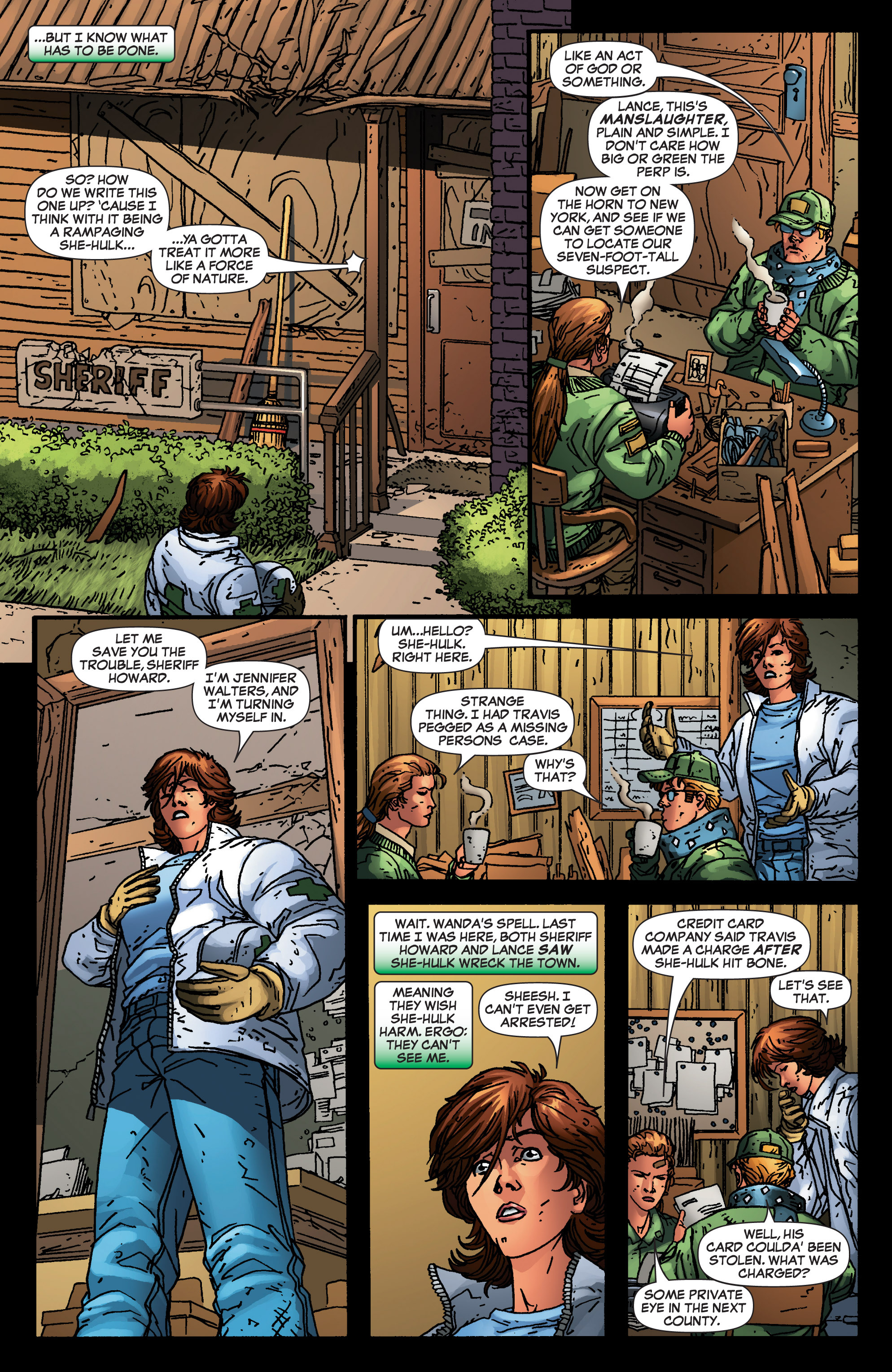 Read online She-Hulk (2005) comic -  Issue #4 - 14