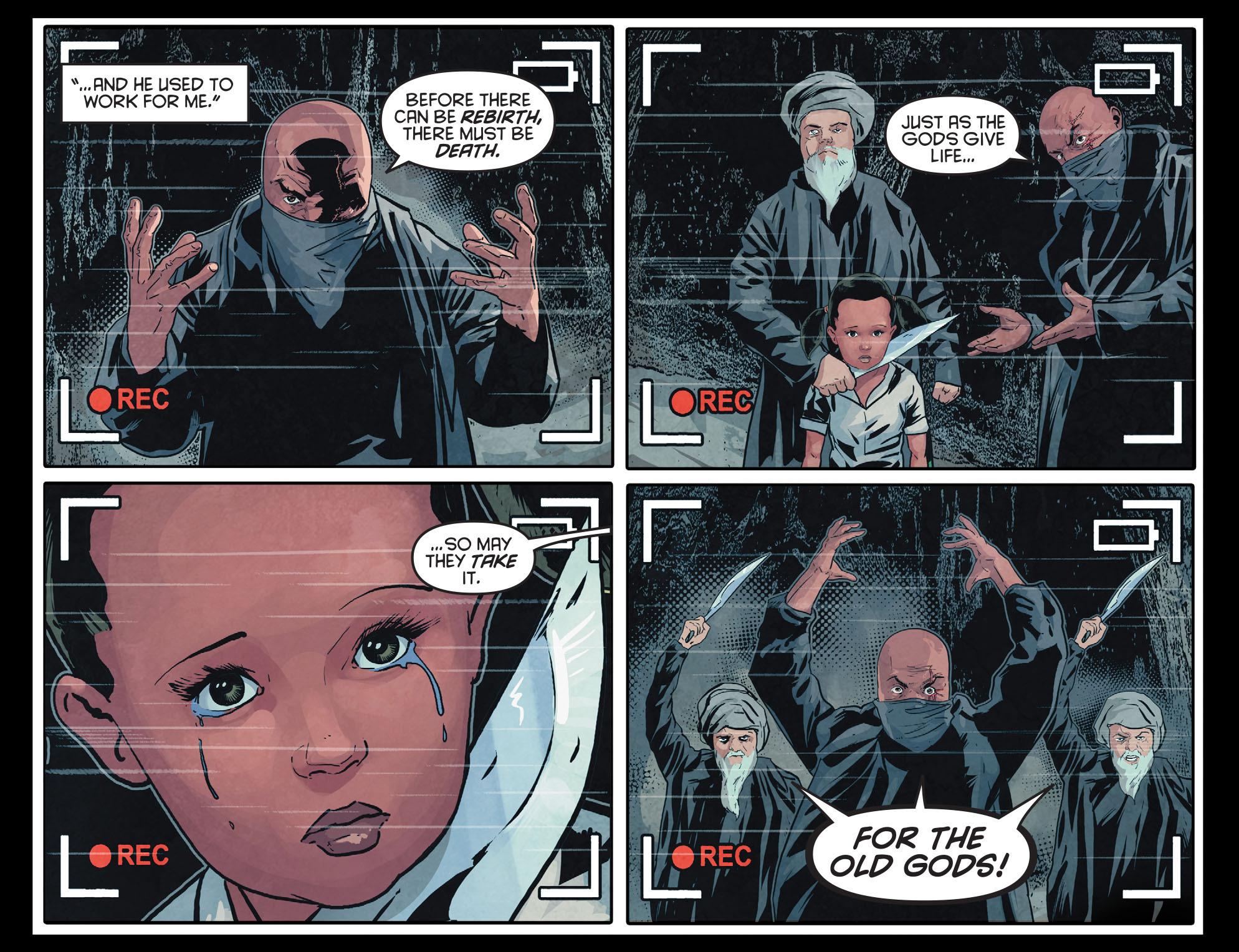 Read online Arrow: Season 2.5 [I] comic -  Issue #12 - 13