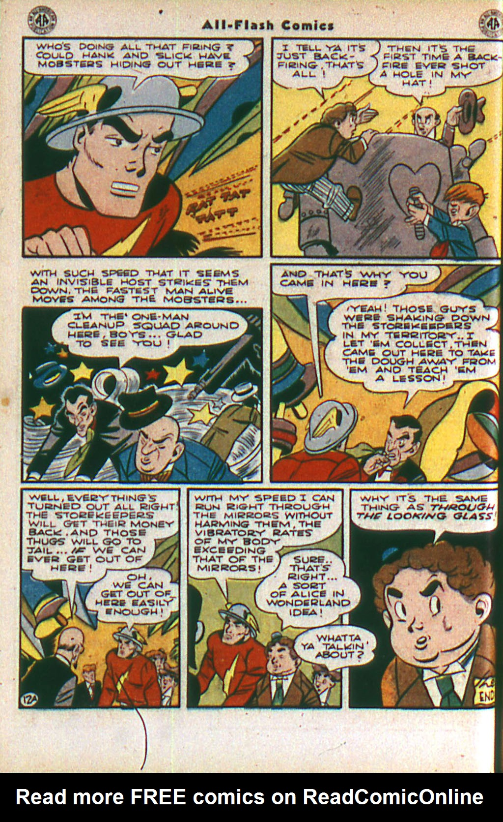 Read online All-Flash comic -  Issue #20 - 14