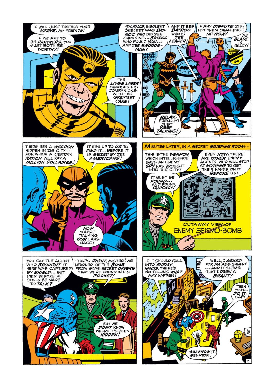 Read online Captain America (1968) comic -  Issue #105 - 8