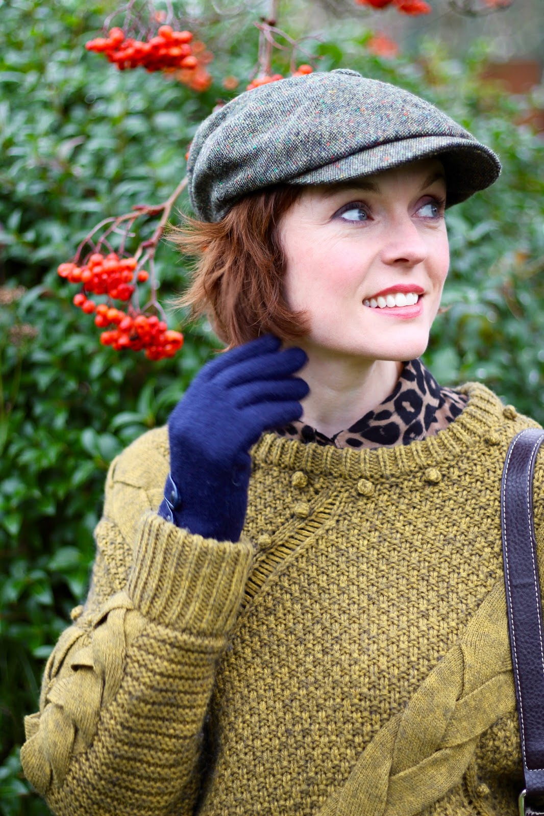 A Flat Cap and a Chunky Jumper, over 40 | Fake Fabulous