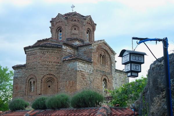 macédoine road trip ohrid église saint-jean de kaneo