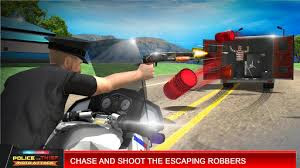 Police VS Thief Moto Attack Mod Apk v1.0 (Unlimited Cash) Terbaru