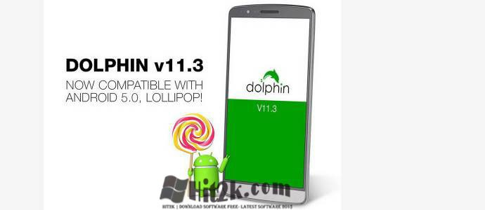 Dolphin Browser Latest Fully Supports Android 5.0