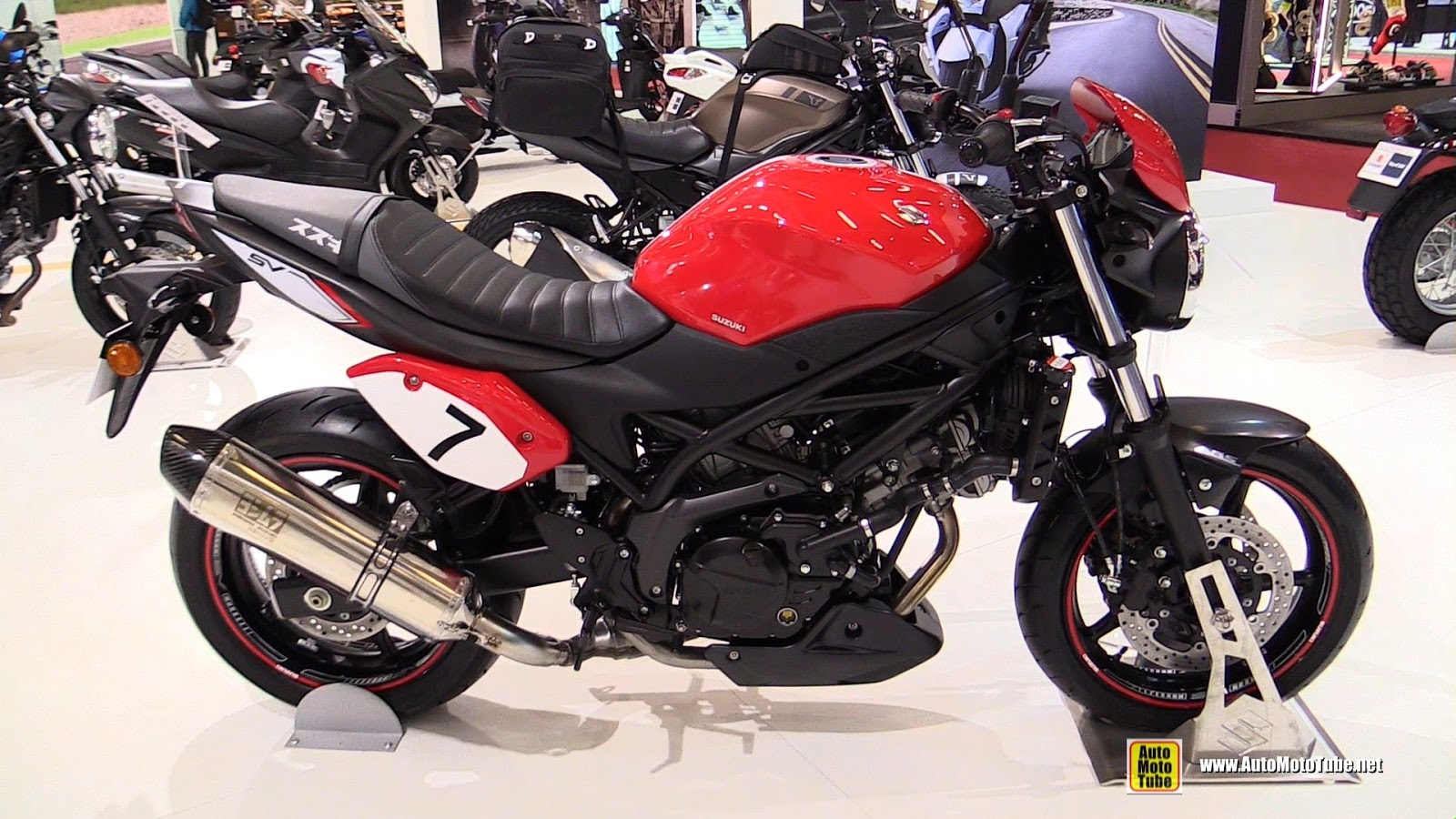2017 suzuki sv650 naked review news motobikes news. Black Bedroom Furniture Sets. Home Design Ideas