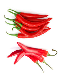 Chilies (Mirchi) Spice in different Indian languages (regional)