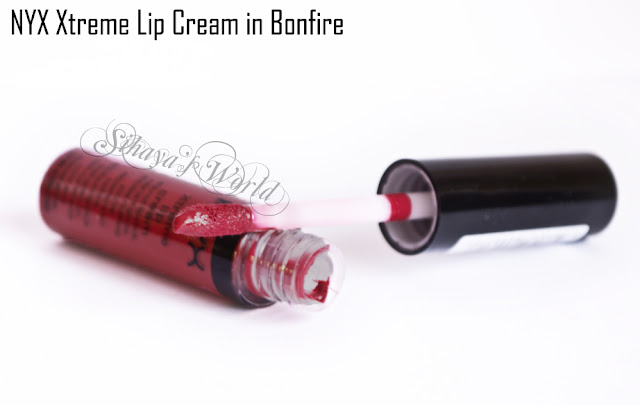 NYX Xtreme Lip Cream Bonfire