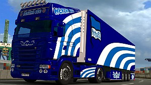 Hertha BSC pack for Scania RJL