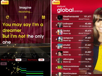 Glee Karaoke 2.0 iPhone/iPad app available for download