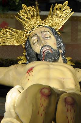 Imagen del Cristo de la Vera Cruz tras su restauración en 2015