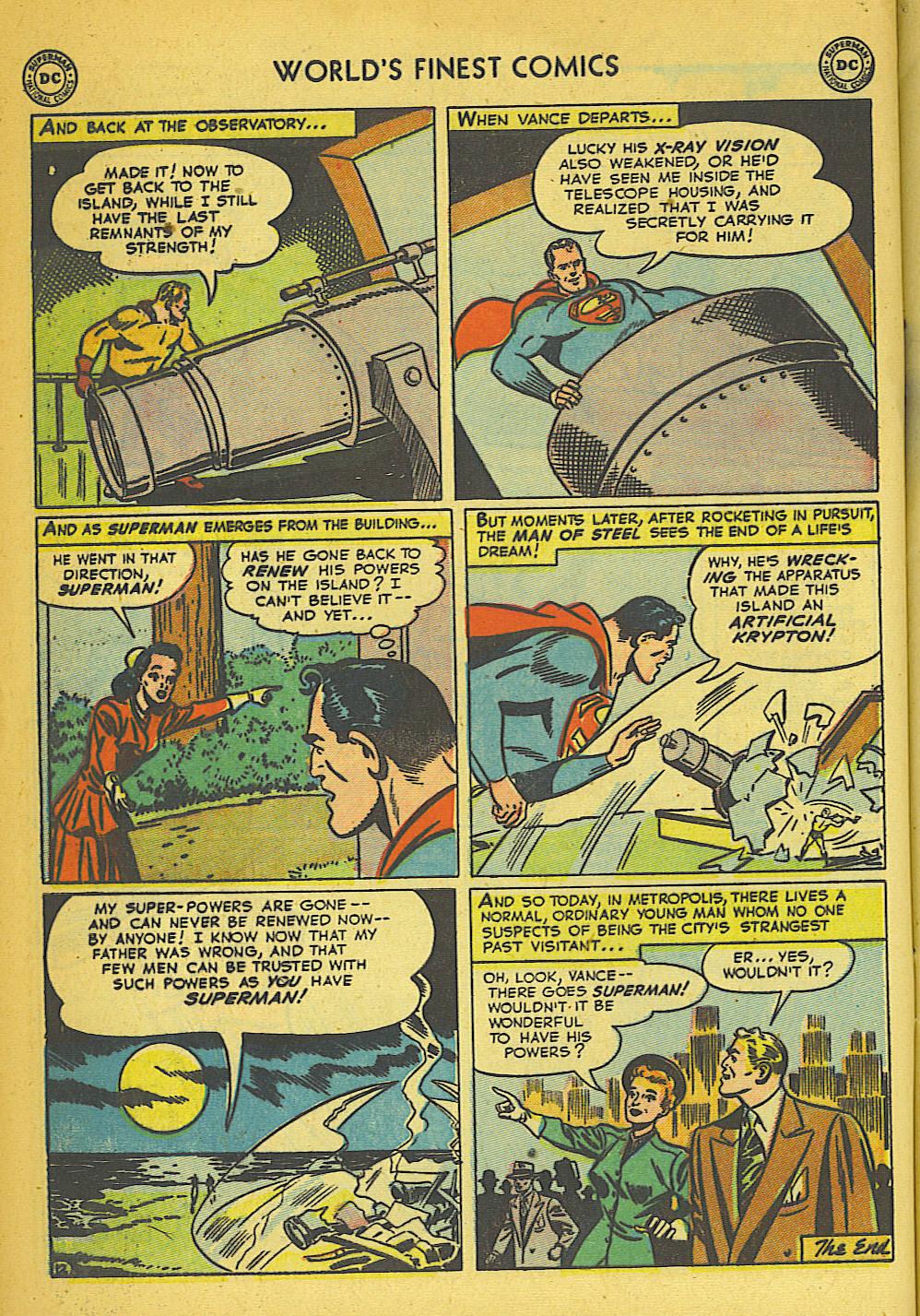 Read online World's Finest Comics comic -  Issue #57 - 14