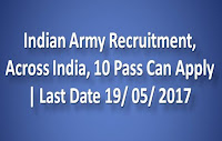 Indian Army Recruitment, Across India