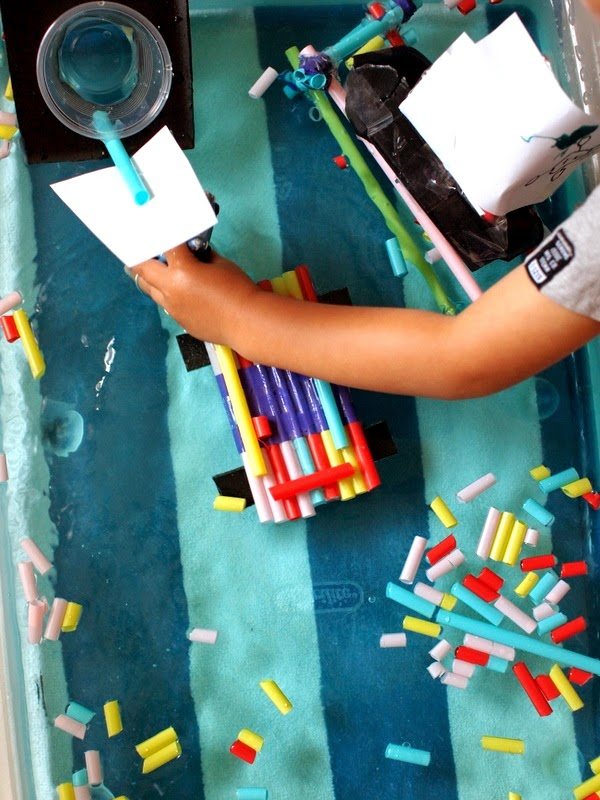 Building boats- Kids' engineering