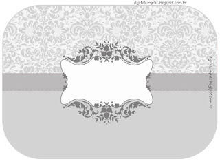 Silver Arabesques: Free Printable Candy Bar Labels.