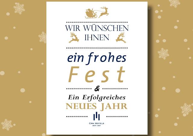 Frohe Weihnachten und einen gutes Neues Jahr
