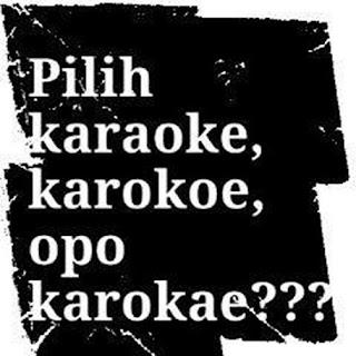 gambar dp bbm musik karaoke