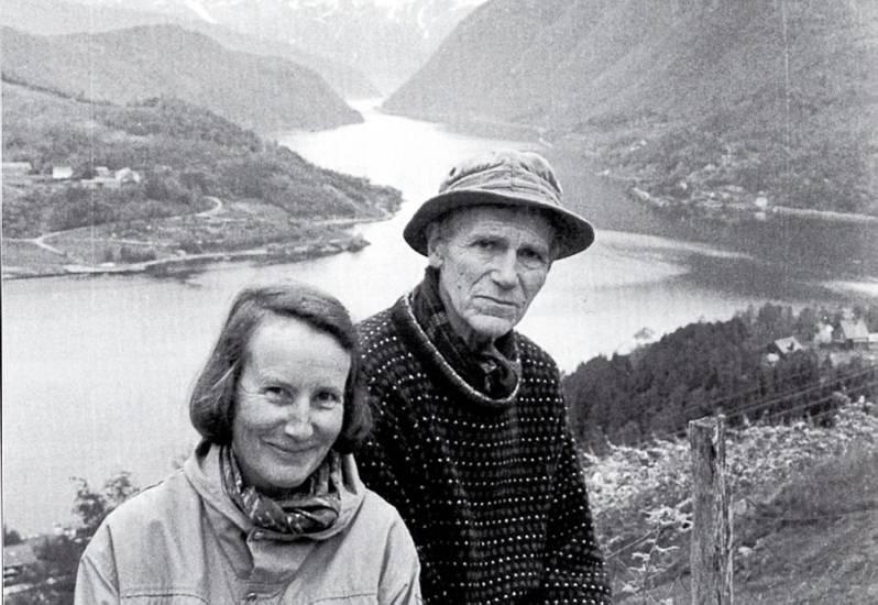 Olav Hauge tage