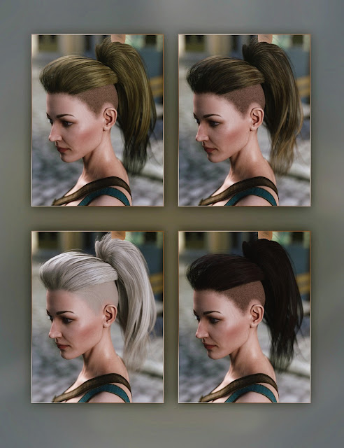 Nydo Hair for Genesis 3 Female