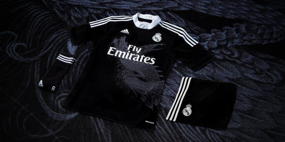 7e1fad3c6 Real Madrid receives again three completely new kits for the 2014-15 season