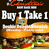 Buy One, Get One Double Delight Bunwich at Lady Christine's Baby Back Ribs