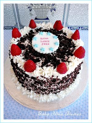 tarta selva negra con fresas