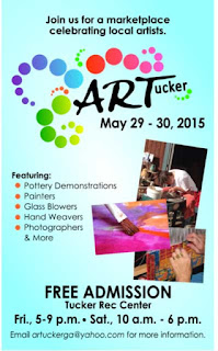 Art Show in Tucker May 29th and 30th