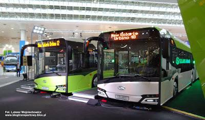 Nowe Solarisy Urbino 18 i Urbino 12, Hanower IAA