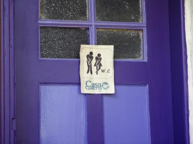 コロンビアボゴタにあるおしゃれなカフェのトイレ
