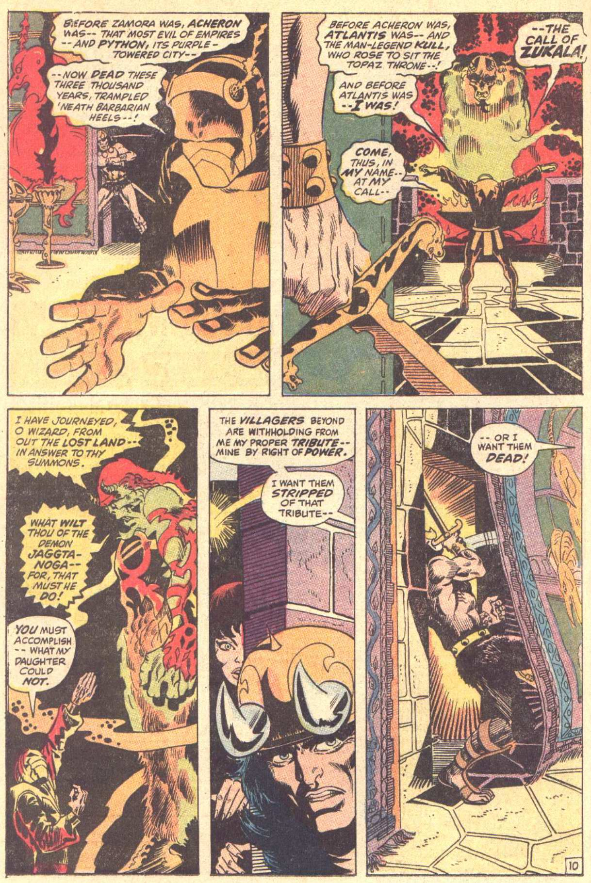 Conan the Barbarian (1970) Issue #5 #17 - English 11