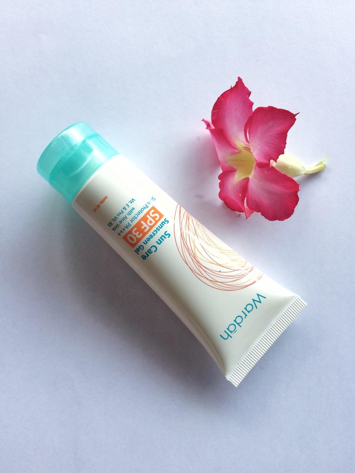 Review: Wardah Sunscreen Gel SPF 30