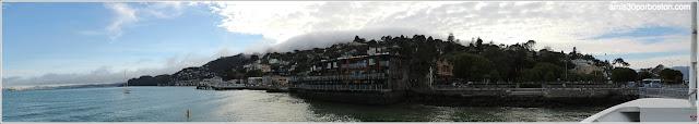 Sausalito desde el Ferry